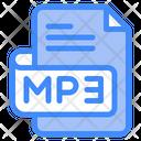 Mp Document File Icon