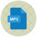 Mp 3 Audio File Icon