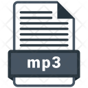 Mp3 file format Icon