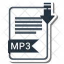 Mp3 format Icon