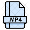 Mp 4 File File Extension Icon