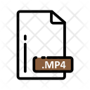 Mp 4 Document Extension Icon