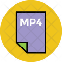 Mp 4 Music File Icon