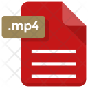 Mp 4 File Sheet Icon