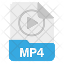 File Mp 4 Format Icon