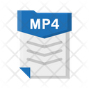 File Mp 4 Document Icon