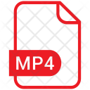 Mp 4 File Format Icon