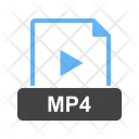 Mp 4 File Extension Icon