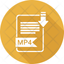 Mp 4 Extension Document Icon