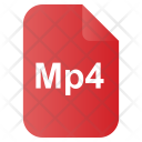 Mp 4 Video Os Icon