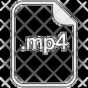 Mp 4 File Extension Icon