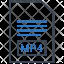Mp 4 Document File Icon
