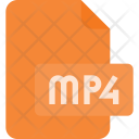 Mp 4 File Video Icon