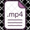 Mp 4 Video File Icon