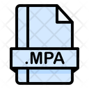 Mpa File File Extension Icon