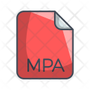 Mpa Audio File Icon