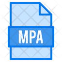 Mpa File File Types Icon