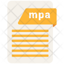 Mpa Format Document Icon