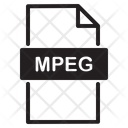 Mpeg Document File Icon