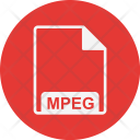 Mpeg File Extension Icon