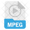 File Mpeg Format Icon
