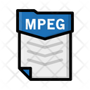 File Mpeg Document Icon