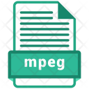 Mpeg File Format Icon
