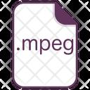 Mpeg Music File Icon