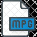 Mpg Mpeg Film Icon
