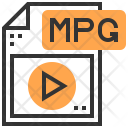 Mpg Type File Icon