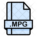 Mpg File File Extension Icon