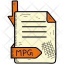 Mpg Document Format Icon