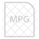 Mpg Extension File Icon