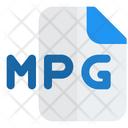 Mpg File Audio File Audio Format Icon