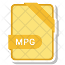 Mpg File Document Icon
