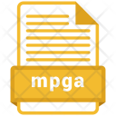 Mpga File Formats Icon