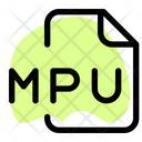 Mpu File Audio File Audio Format Icon