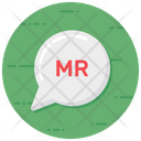 Mr Groom Message Chat Bubble Icon