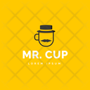 Mr Cafe Hot Coffee Icon