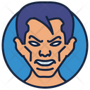 Mr Fantastic Zombie Cartoon Character Icon