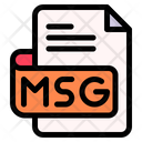 Msg File Type File Format Icon