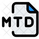 Mtd File Audio File Audio Format Icon