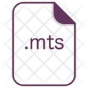 Mts File Document Icon