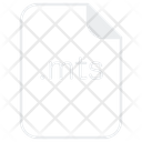 Mts File Extension Icon