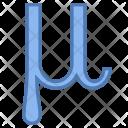 Mu Icon