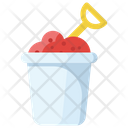 Mud Bucket Gardening Mud Kids Activity Icon