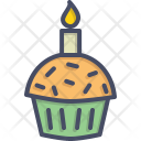 Muffin Cake Cup Icon