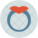 Muffin With Heart Icon