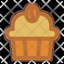 Muffin Coffee Cupcake Icon