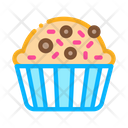 Muffin Delicious Baked Icon